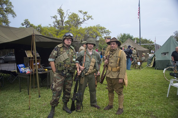 Florida Guardsmen though the last 100 Years