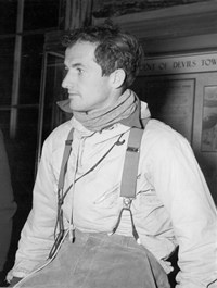 Jack Durrance, who pioneered the most popular climbing route in 1938