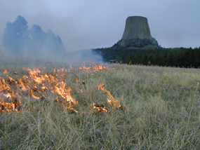 2002 Prescribed Fire at Devils Tower