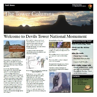 Devils Tower Newspaper