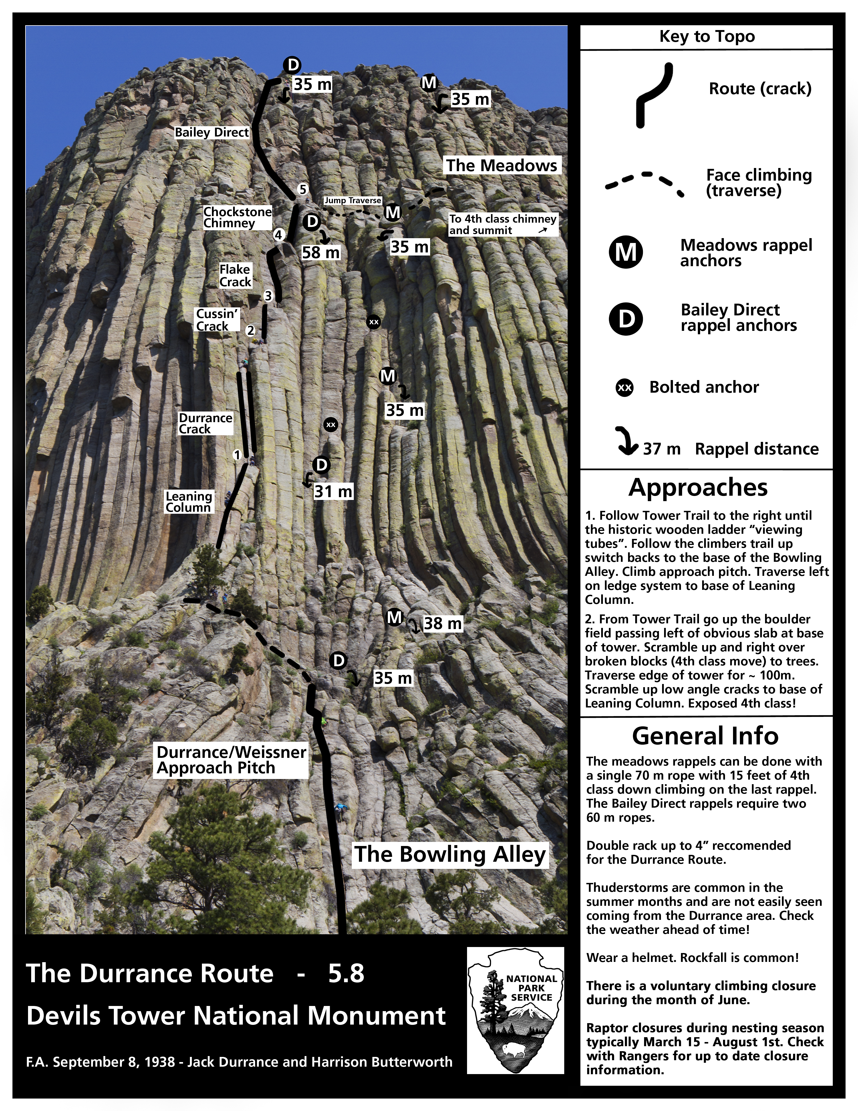 climbing information devils tower national monument u s national