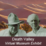 Cultural history of Death Valley exhibit