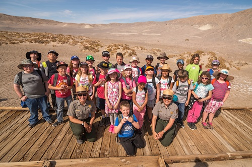 Rangers often lead trips for school groups.