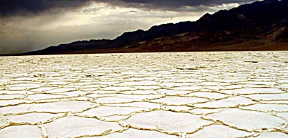 Salt Flats Death Valley National Park US National Park Service - Us national map of bad water