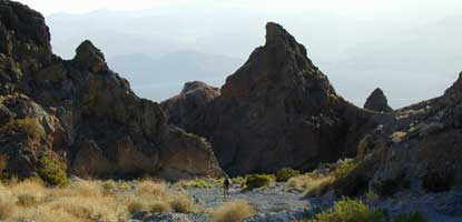 unnamed canyon in the Grapevine Mountains