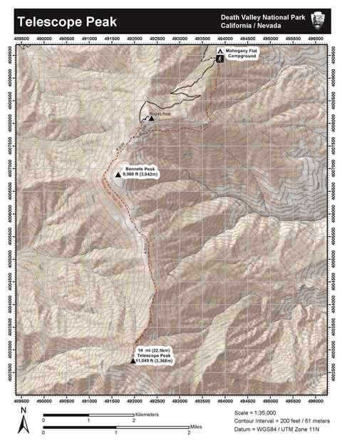 Telescope Peak Death Valley National Park US National Park Service