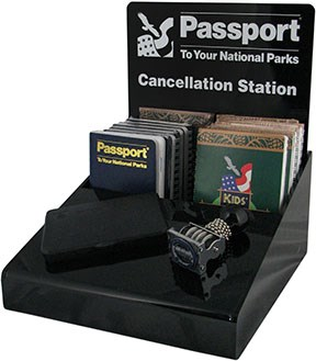 Passport cancellation station