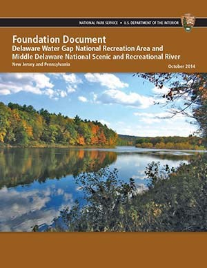 Delaware Water Gap Foundation Document cover page with photo of Delaware River in fall.