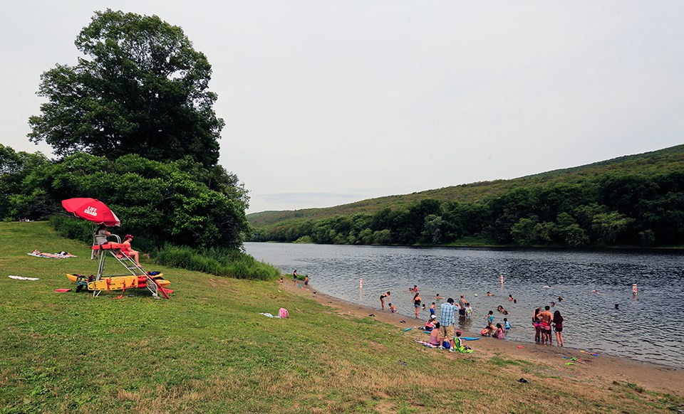 Swim - Delaware Water Gap National Recreation Area (U S  National