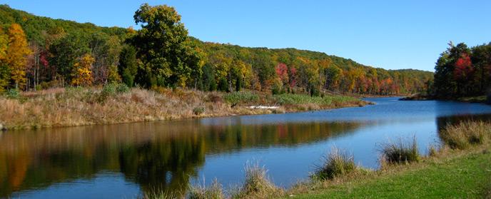 Blue Mountain Lake Trail - Delaware Water Gap National