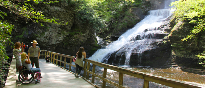 plan your visit   delaware water gap national recreation