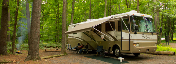 Developed Campgrounds - Delaware Water Gap National