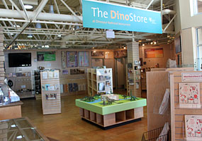 The Dinostore, operated by the Intermountain Natural History Association.