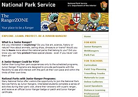 Click here to learn which national parks have junior ranger programs