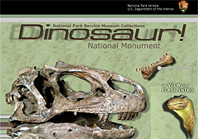 Dinosaur National Monument Museum Collection Exhibit