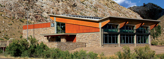 New Quarry Visitor Center nears completion of construction in early September.