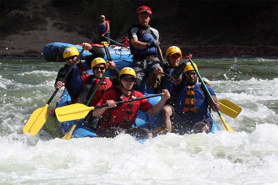 Wounded Warrior Project, rafting in Dinosaur National Monument