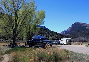 Gates of Lodore Campground