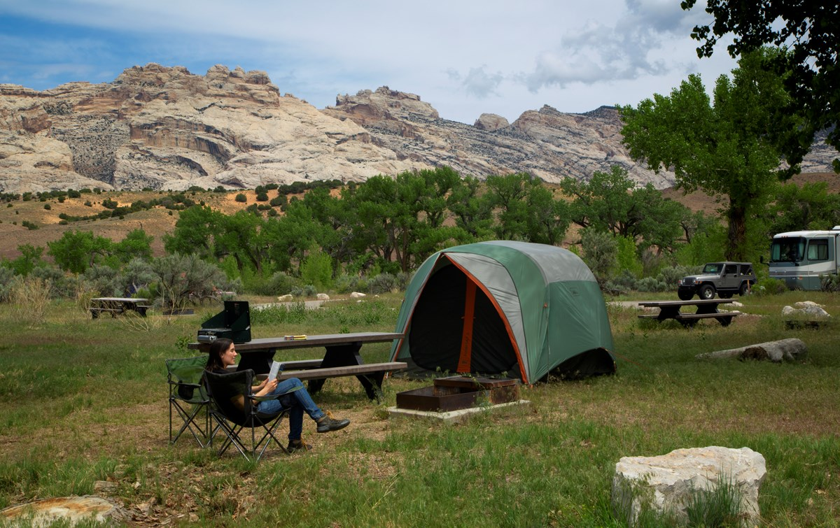 Green River Campground - Dinosaur National Monument (U S