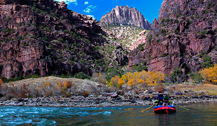 Rafting on the rivers of Dinosaur National Monument is a great way to experience the wildness of the park.