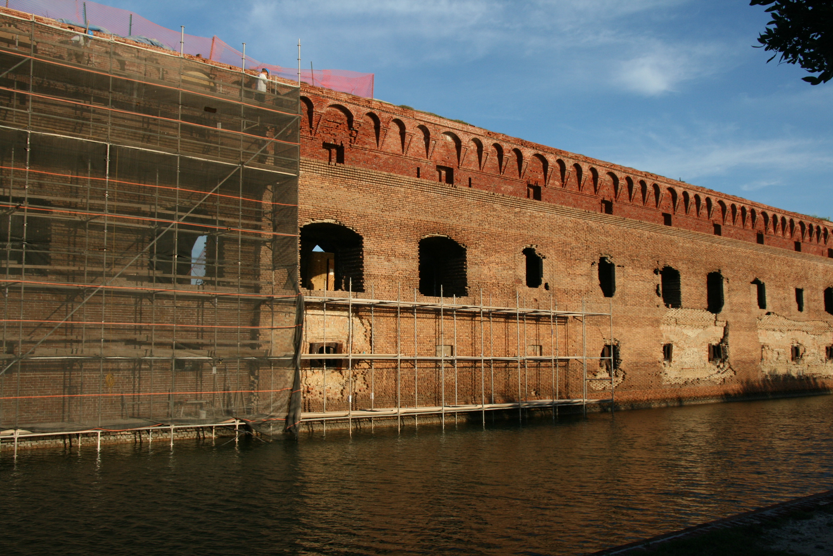 Fort Jefferson Stabilization