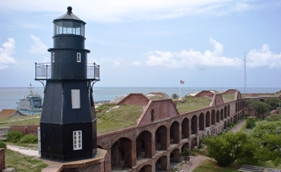 Fort Jefferson Harbor light