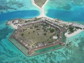 Fort Jefferson Aerial