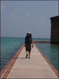 Sea level at Fort Jefferson