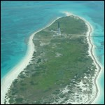 Aerial view of Loggerhead Key