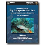 Dry Tortugas RNA 5-year Report Cover