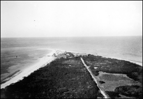 North end of Loggerhead Key, viewed from the lighthouse in 1914