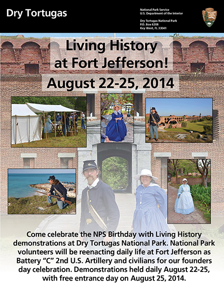 DRTO LIVING HISTORY Aug 22-25, 2014 - Flyer
