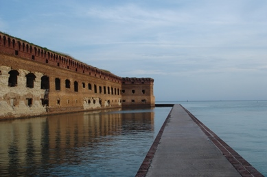 Fort Jefferson and Mote Wall