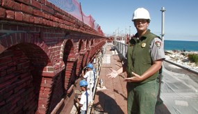 Fort Jefferson Stabilization Project