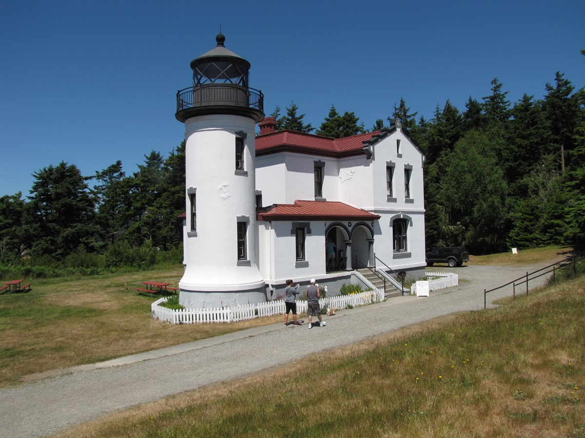 Admiralty Head Lighthouse in Ft. Casey St. Park