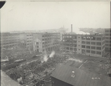 The Phonograph Works the day after the fire. December 10, 1914.
