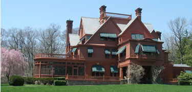 Glenmont estate, home of Thomas and Mina Edison.