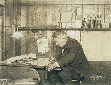 Edison Writing, 1905