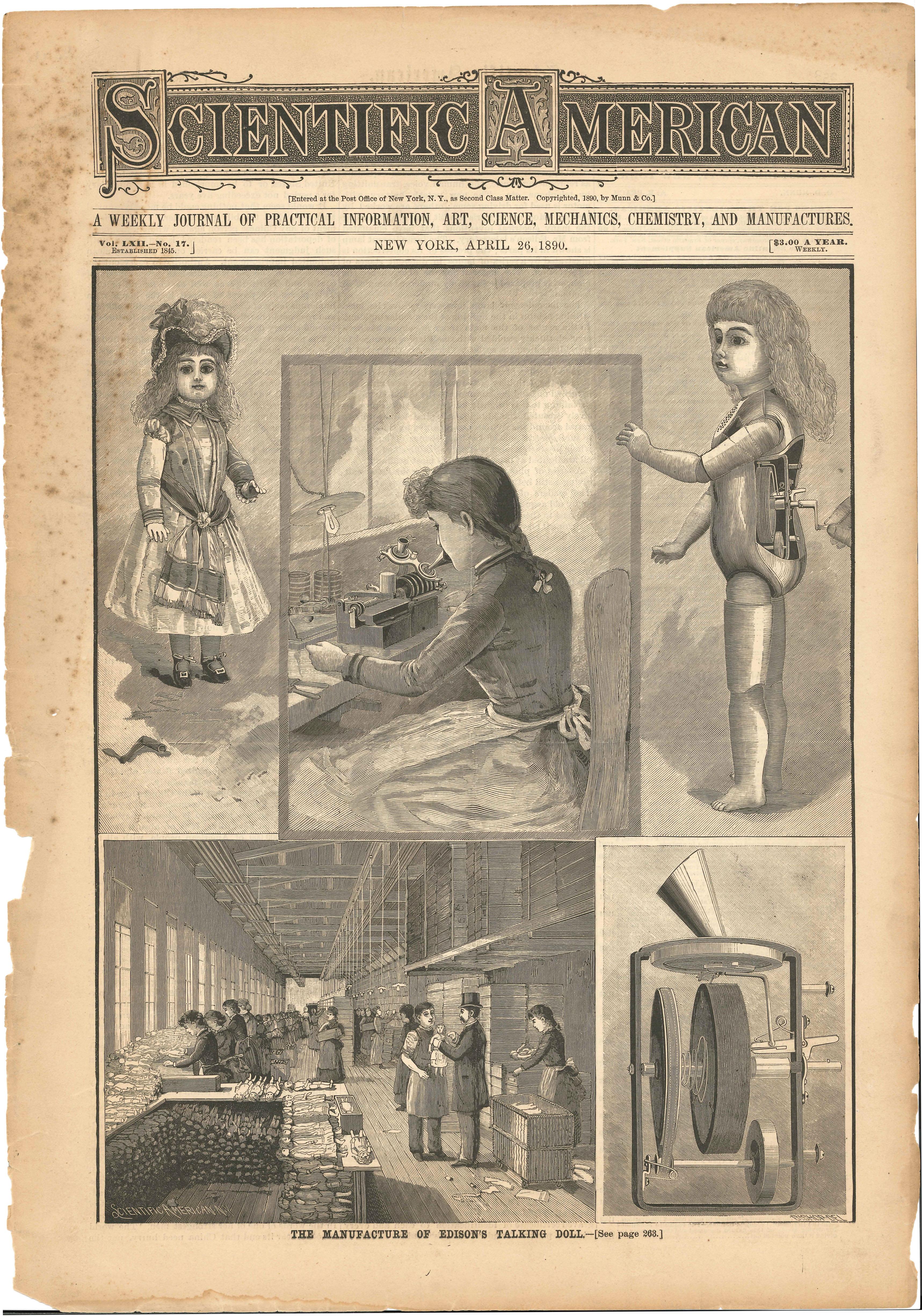 New Lenox Illinois >> Talking Doll FAQ - Marketing and Sales - Thomas Edison ...