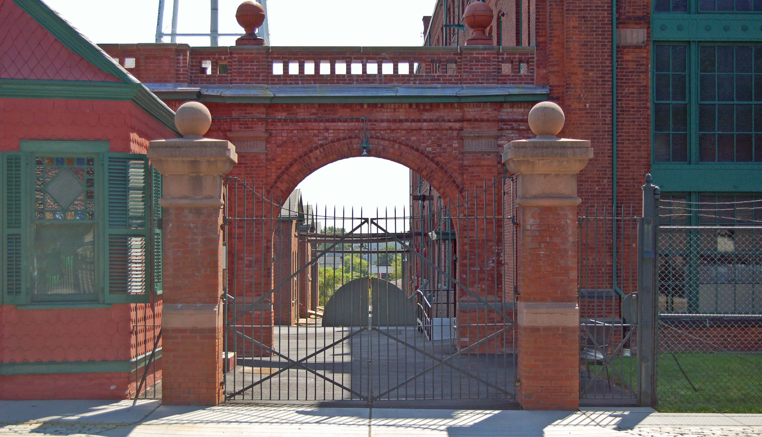 Front Gate of Thomas Edison National Historical Park