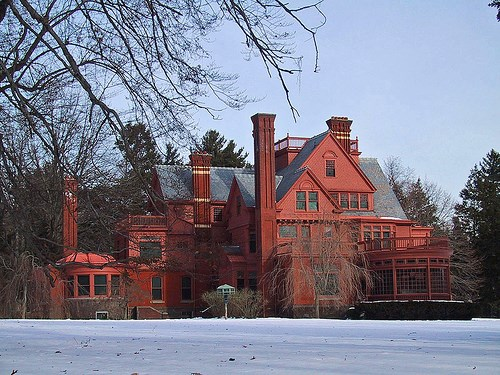 Glenmont in winter