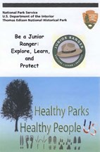 Cover of Junior Ranger activity booklet for Glenmont.