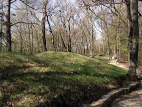 Indian Mounds at Fire Point