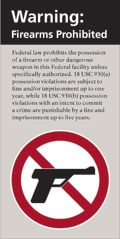 Firearms Sign