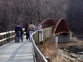 Yellow River Bridge Accessible Boardwalk Trail
