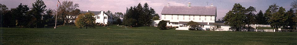 Photo of the Eisenhower Farm. Courtesy of Stan Cohen.