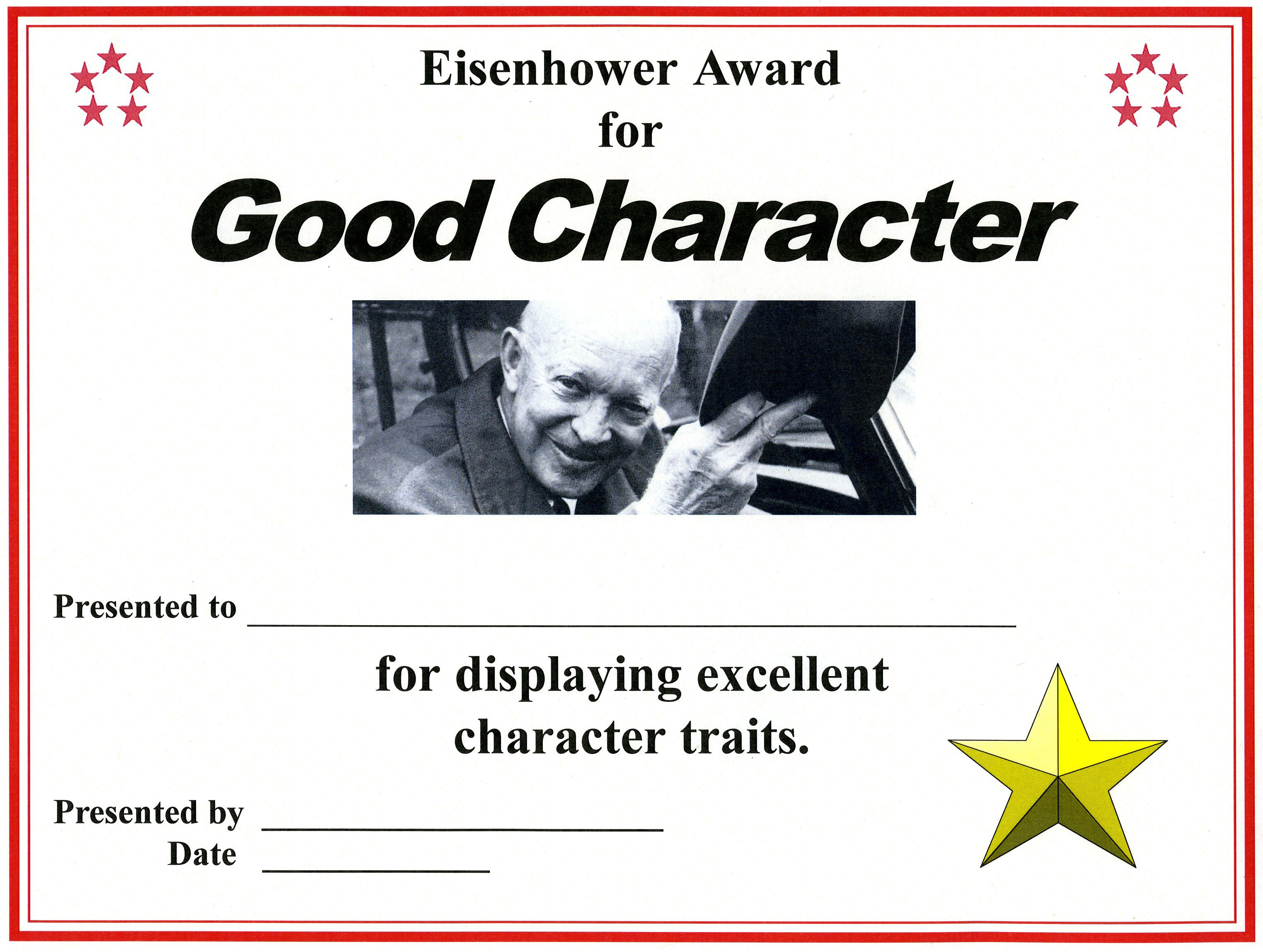Essay on leadership service and character