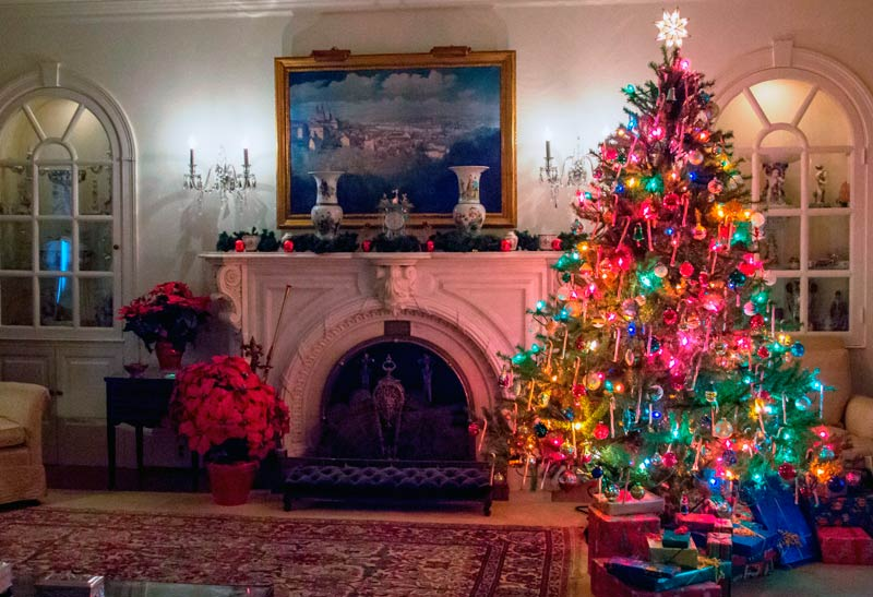 Christmas at the Eisenhower Home