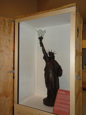 Quot Liberty Uncrated Quot Ellis Island Part Of Statue Of