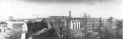 Little Rock Central High School under construction in 1927